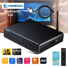 HiMedia Q10 PRO Ultra HD 3D Media Player Quad Core 4K TV BOX HEVC H.265 Remote