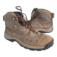 Timberland Plymouth Trail Mens Size 10.5 Brown Waterproof Hiking Boots Shoes