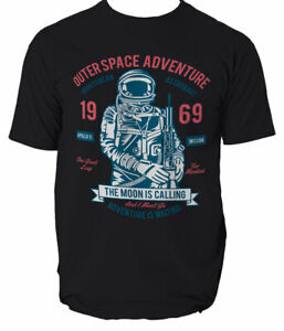 Outerspace Adventure 69 t shirt stars ship S-3XL