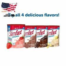 SlimFast Original Meal  Shake Mix Powder Weight Loss Shake 4 Flavors