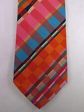 Vintage Saks Fifth Avenue Mens Wide Cotton Tie