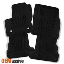 13-17 Ford Escape SUV Heavy Duty Tray Style Black 4pcs Set Floor mat Front +Rear
