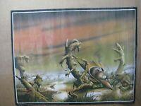 Web of the world  Vintage Poster 1970's fantasy Rodney Matthews Inv#G4863