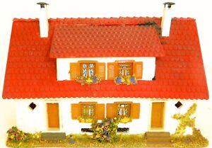 Double House With Dormer Wood Faller 254 H0 Å