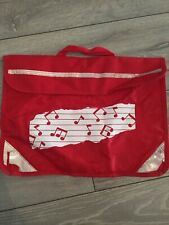 Mapac Music Book Bag Red