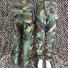 NEW Valken V-Tac ZULU Combat Tactical Paintball Pants - Woodland Camo - X-Small