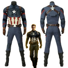 Avengers Endgame Steve Rogers Captain America Cosplay Costume Version 2
