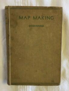 Map Making by Frank Debenham (1940 Vintage Hardback Second Edition)