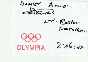 Danie Rono  LA Marathon OS 2021 Tokio Org. Sig.