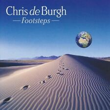 CHRIS DE BURGH footsteps (CD, album) soft rock, pop rock, very good condition