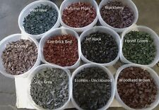 Decorative Colour chipings, Rubber Play Bark, Safe play surface Soft Mulch 20kg