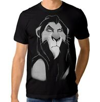 Scar Art T-shirt, Lion King Disney Rock Tee, Men's Women's All Sizes