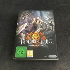 Nintendo Wii Pandora's Tower Limited Edition EUR CD état neuf