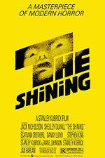 Incorniciato Retrò movie poster-Stephen King La SHINING 1980 (replica stampa horror)