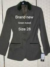 BRAND NEW..Green Size 28 Tagg tweed jacket.Suit large child.Show - hunt LOOK
