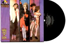 "THOMPSON TWINS - KING FOR A DAY / ROLLUNDER - 7"" 45 VINYL RECORD PIC SLV 1985"