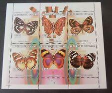 Mali 2000 Butterflies of the World Butterfly sheetlet MNH UM unmounted mint