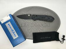 "Benchmade 560BK-1 Freek 3.6"" CPM-M4 Black Blade Gray Black Knife *NEW*"