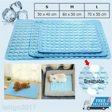 Pet Cooling Gel Mat Pad Large Comfortable Cushion Bed for Dog Cat Puppy S/M/L