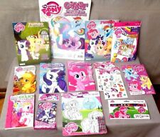 My Little Pony Lot of 14 Pieces Keep Little Hands Busy Brand New & Sealed