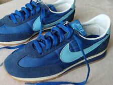 New listing Vtg Nike Oceans 1981 waffle trainer shoes 6 euro 23 Exc Korea Blue swoosh Rare