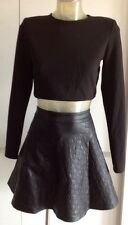 U GET 2 NEW & TAG JACKET TOP SZ XS 6 & TARGET SKIRT RRP $100 free post