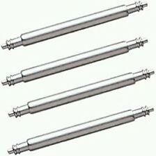 4 x Watch Spring Bars 1.8 MM Dia - To Fit Straps 22 MM Wide - Easy DIY Repair