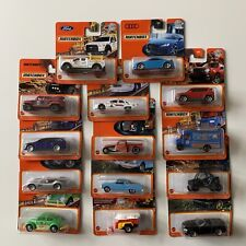 14 x Matchbox 2021 * Neue Serie B Case * series from new case
