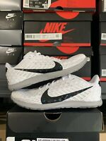 Nike Zoom Rival Waffle 2019 Men's Sz 7 White Black Atmosphere AJ0852-100