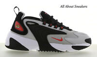 """Nike Zoom 2K """"Black-Red-Grey"""" Men's Trainers Limited Stock All Sizes"""
