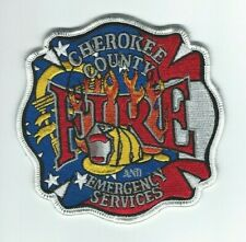 GEORGIA - Cherokee County Fire and Emergency Services patch