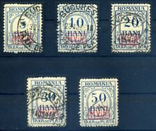 MV. RUMAENIEN 1918, Nr. P1-5 (96803)