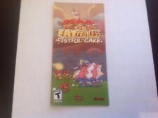 (NO GAME) Fat Princess: Fistful Of Cake Pep Instruction Book Manual Only