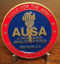 "2 1/4"" US Army AUSA 2013 Annual Meeting Washington DC Challenge Coin"