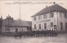 GUEVENATTEN GUERRE 14-18 WW1 inscription en français mairie éd cardot écrite 15