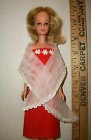 VINTAGE Barbie FRANCIE DOLL STRAIGHT WAIST AND LEGS JAPAN 1960S DRESSED IN OOAK