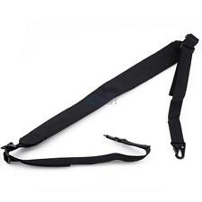 Adjustable Heavy Load Tactical 2 Two Point Rifle Gun Sling w/ Shoulder Pad US
