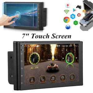 7'' Touch Screen GPS Navigator Radio Stereo FM Car MP5 Player for iOS / Android