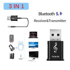 USB Bluetooth Adapter 5.0 Music Audio Receiver Transmitter Wireless Adapters OL