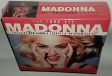 MADONNA THE COMPLETE MADONNA (2001) BRAND NEW SEALED 3CD INTERVIEW COLLECTION