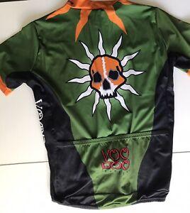 Voodoo Cycles Cycling Jersey XL Voler Skull Hex Free Shirt