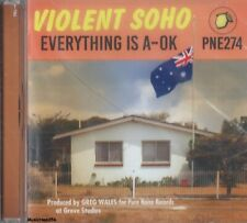 Violent Soho - Everything Is A-Ok - Alt Hard Rock Pop Music Cd