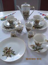 Hutschenreuther Selb Bavaria Kaffeegeschirr Porzellan Silberdistel 16-teilig