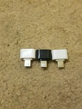 3pcs NEW Micro USB Male to USB 2.0 Female Mini Adapter OTG Converter For Android