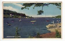 CROSSHAVEN COUNTY CORK PC Postcard IRELAND Irish EIRE Harbor BOATS