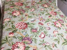"Jay Yang Peony Floral Home Decorator Drapery Fabric 8"" x 8"" SAMPLE"