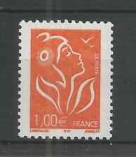 FRANCE 2005 1 EURO ORANGE VALUE DEFINITIVE SG,4036 U/M LOT 8229A