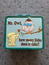 Mr Owl How Many Licks Does It Take Metal Lunch