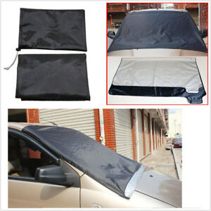 Magnetic Car SUV Windscreen Cover Ice Frost Shield Snow Dust Protector Sun Shade