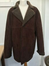 Sheepskin Look coat Next Winter Jacket Retro Vintage Style Sheepskin Medium